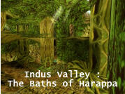 Indus Valley : The Baths of Harappa - Voir l'agrandi ...